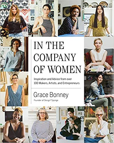 book cover bonney in the company of women