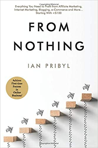 book cover pribyl from nothing affiliate marketing