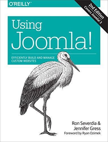book cover using joomla efficiently
