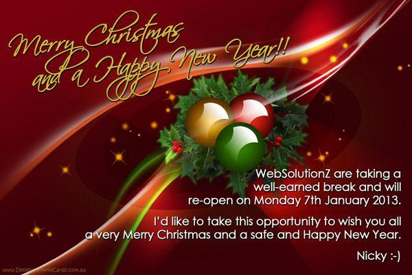WebSolutionZ xmas 2012