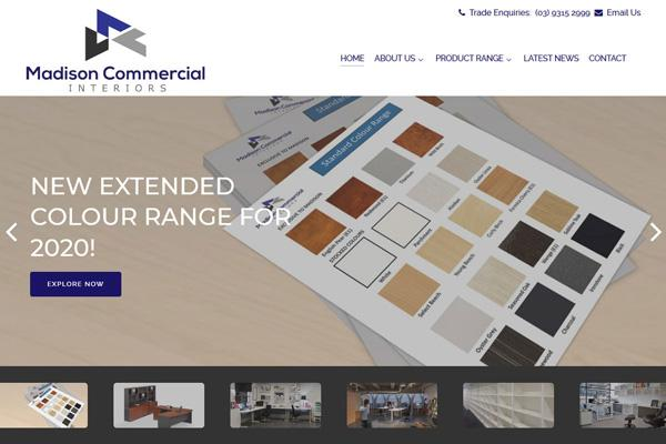 madison commercial interiors website