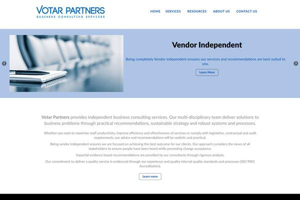 votar-partners-website