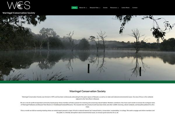 warringal-conservation-society-website