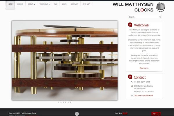 will-matthysen-clocks-website